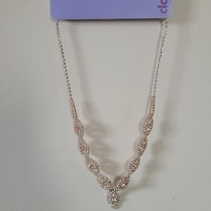 *Extra 50%OFF NWT Claire's Evening Necklace